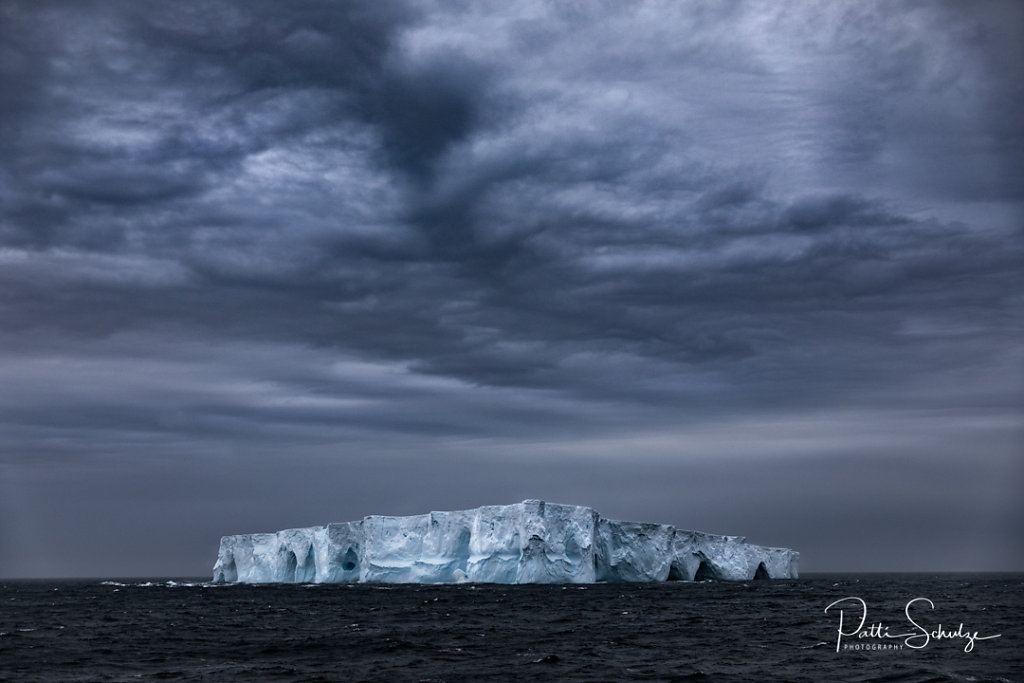 Iceberg and Clouds