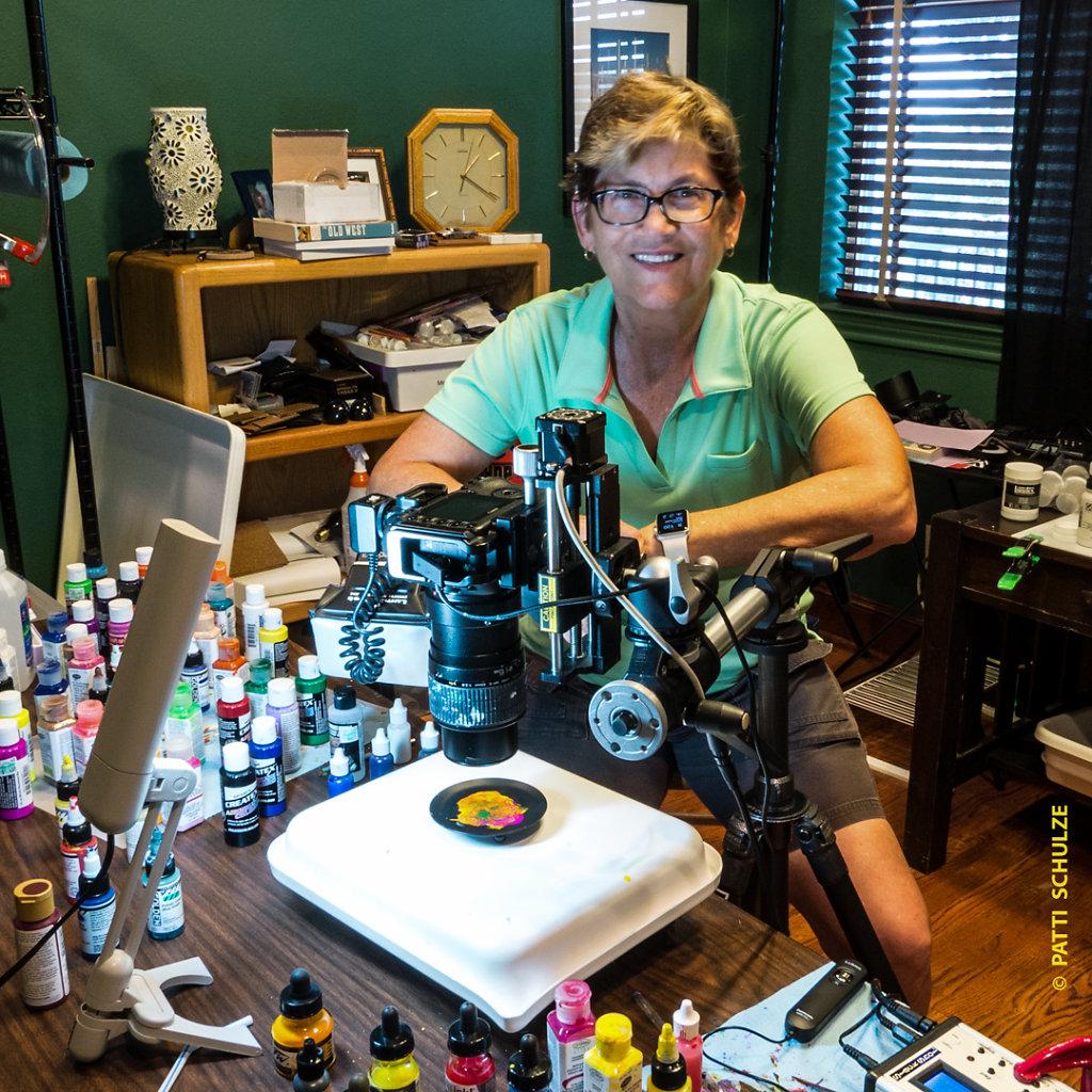 Patti in Studio